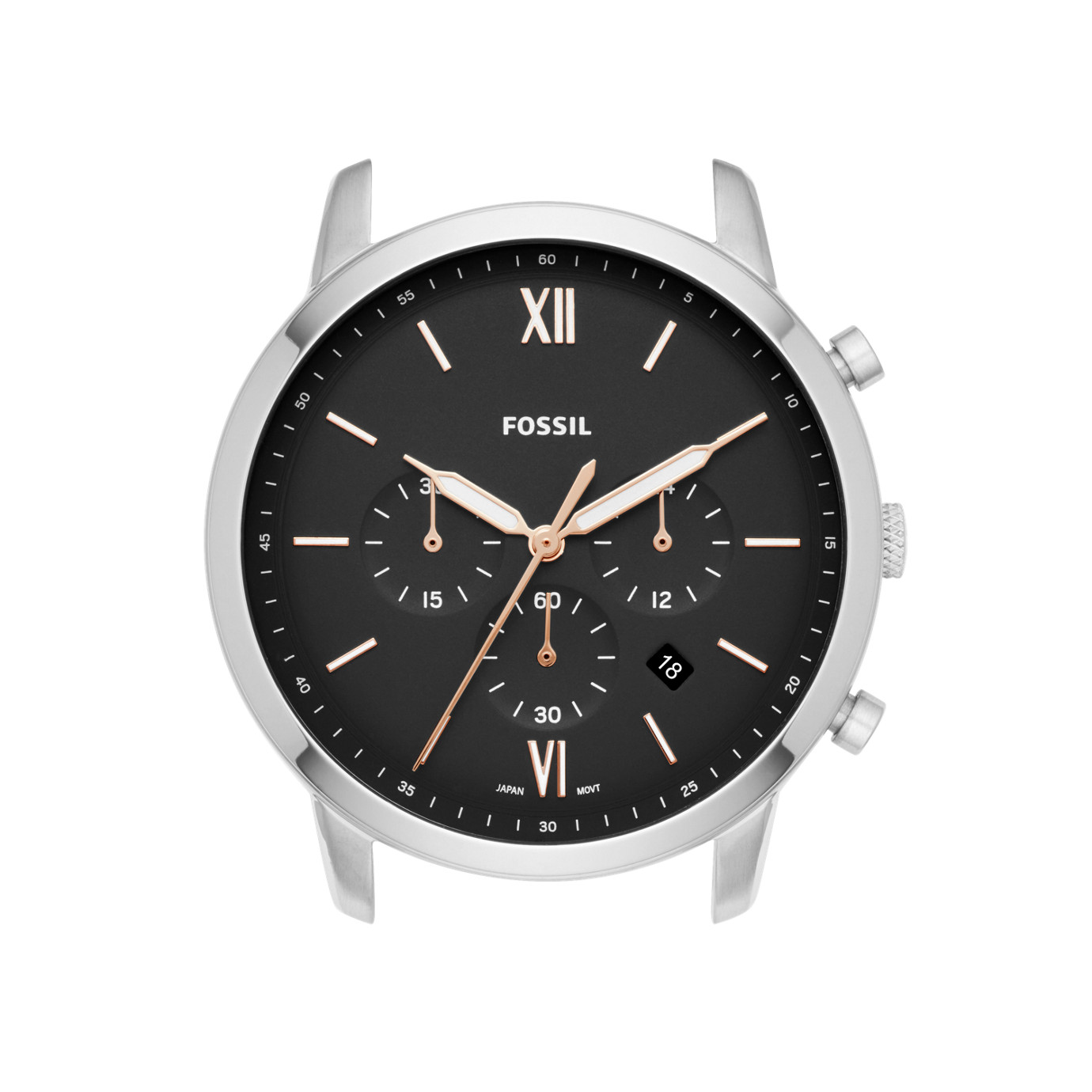 Neutra Chronograph Stainless Steel Watch Case