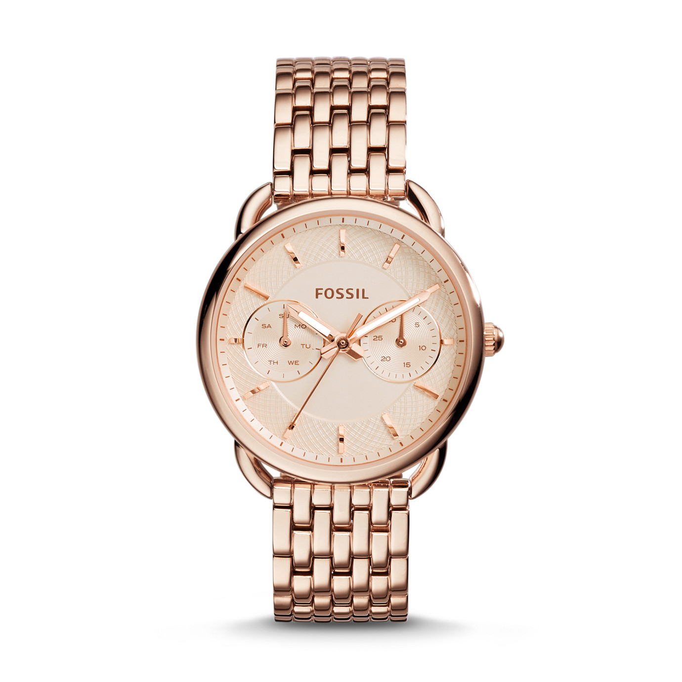 Tailor Multifunction Stainless Steel Watch – Rose