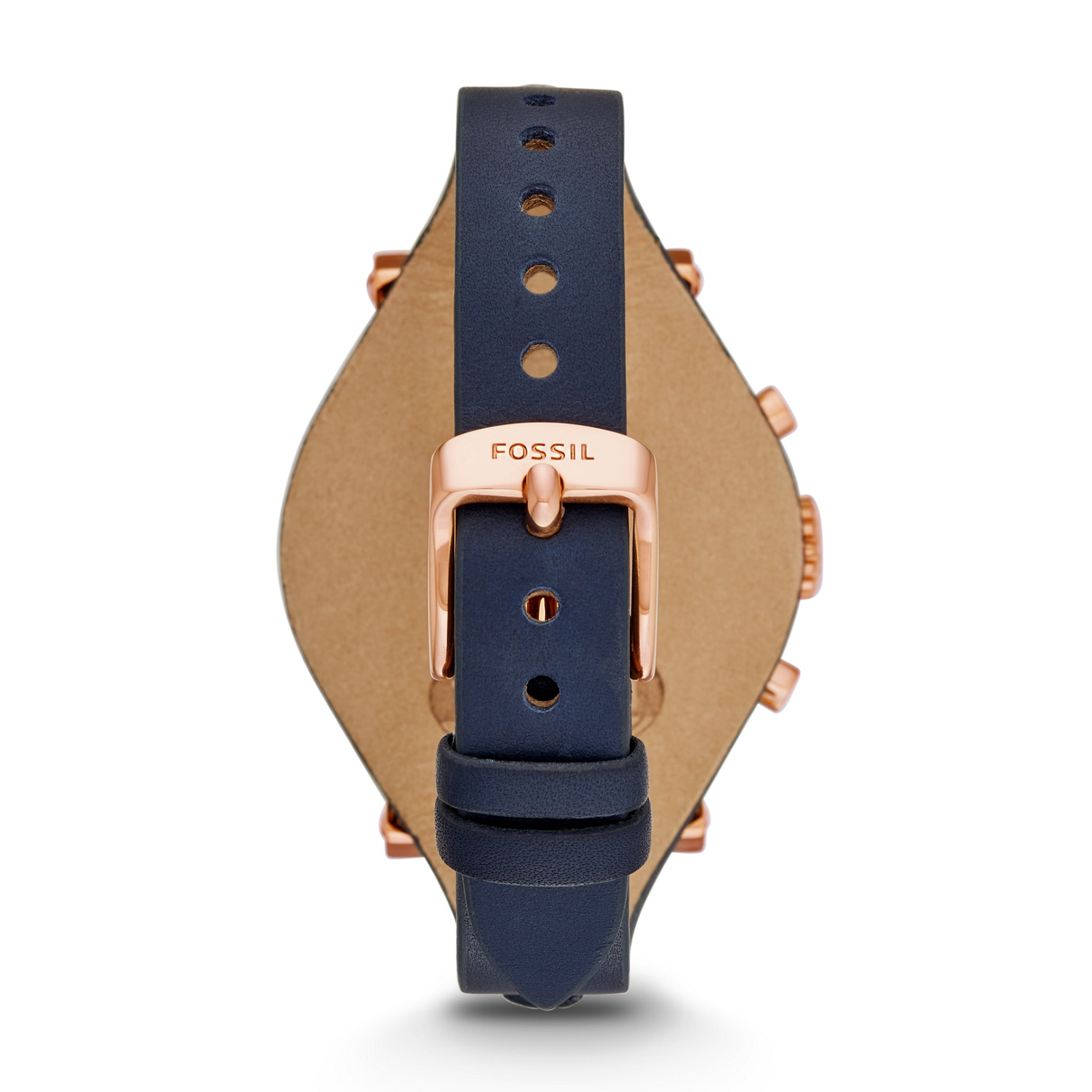 Original Boyfriend Chronograph Leather Watch – Blue