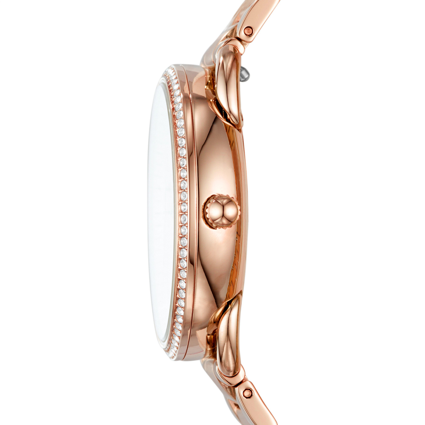 Tailor 系列多功能玫瑰金色不鏽鋼手錶
