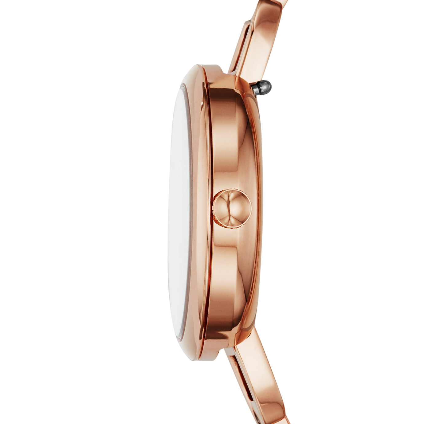 Annette Three-Hand Rose Gold-Tone Stainless Steel Watch