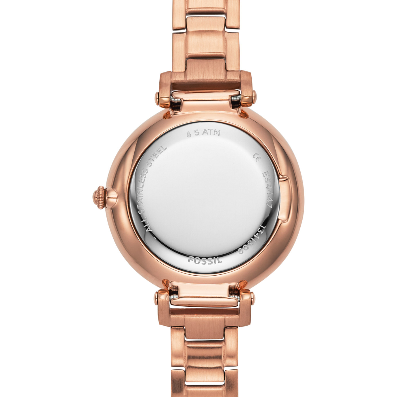 Kinsey Three-Hand Rose Gold-Tone Stainless Steel Watch
