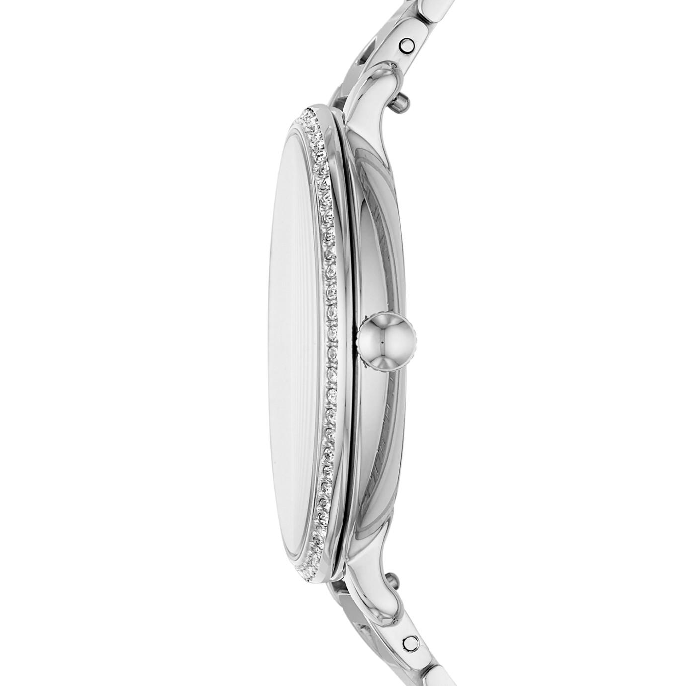 Jocelyn Three-Hand Stainless Steel Watch