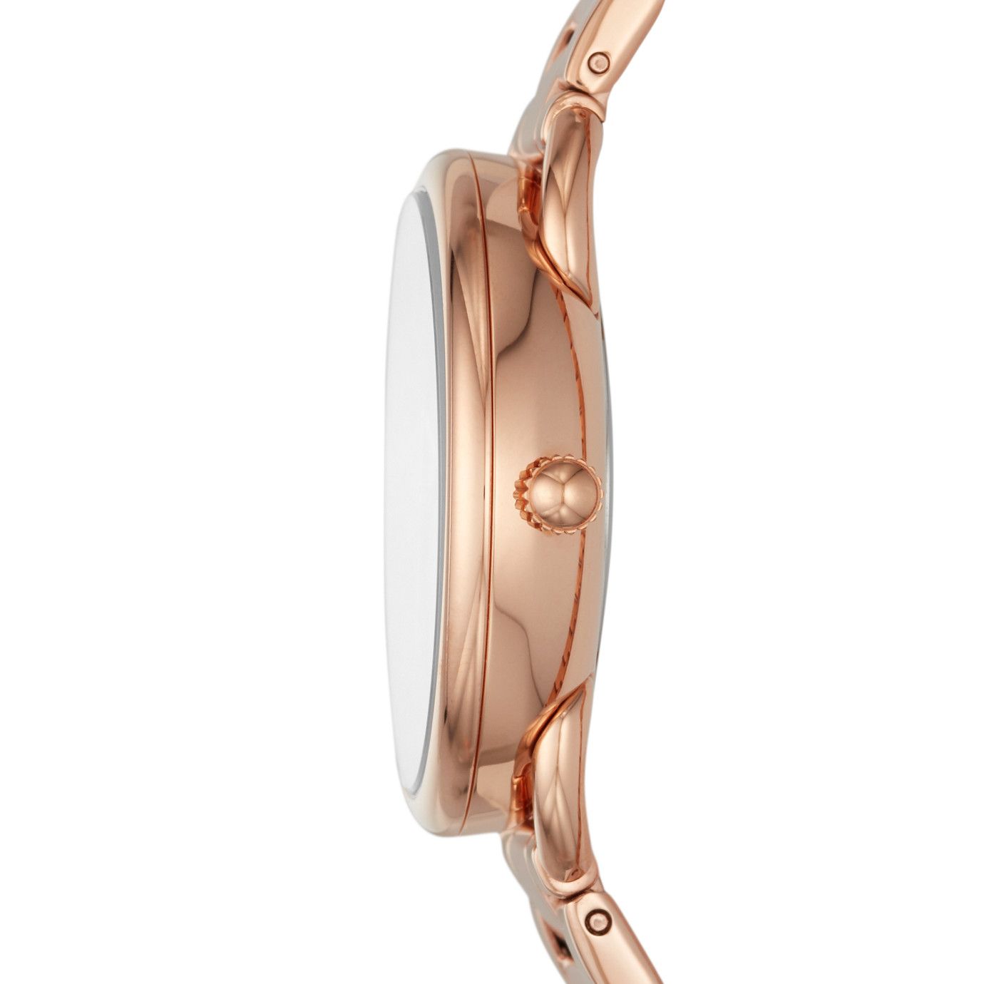 Tailor Three-Hand Rose Gold-Tone Stainless Steel Watch