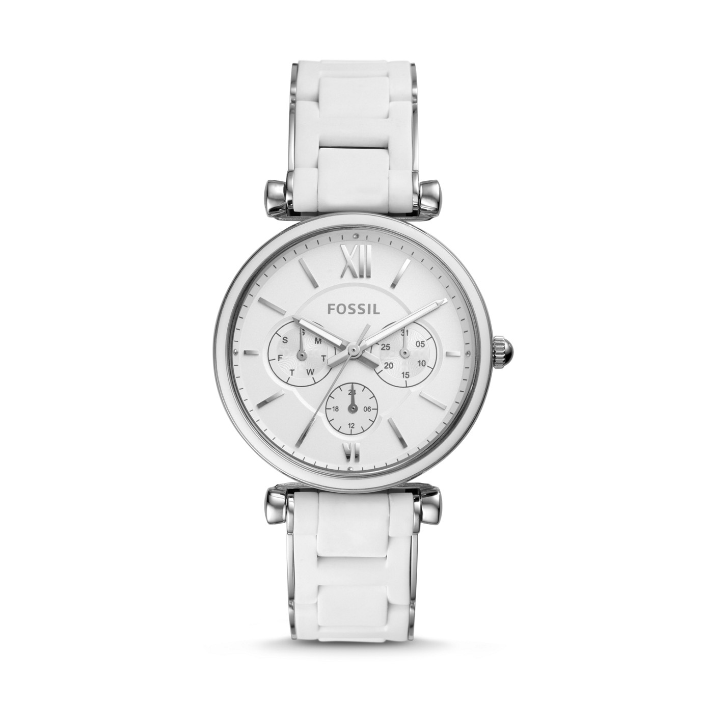 Carlie Multifunction Stainless Steel Watch