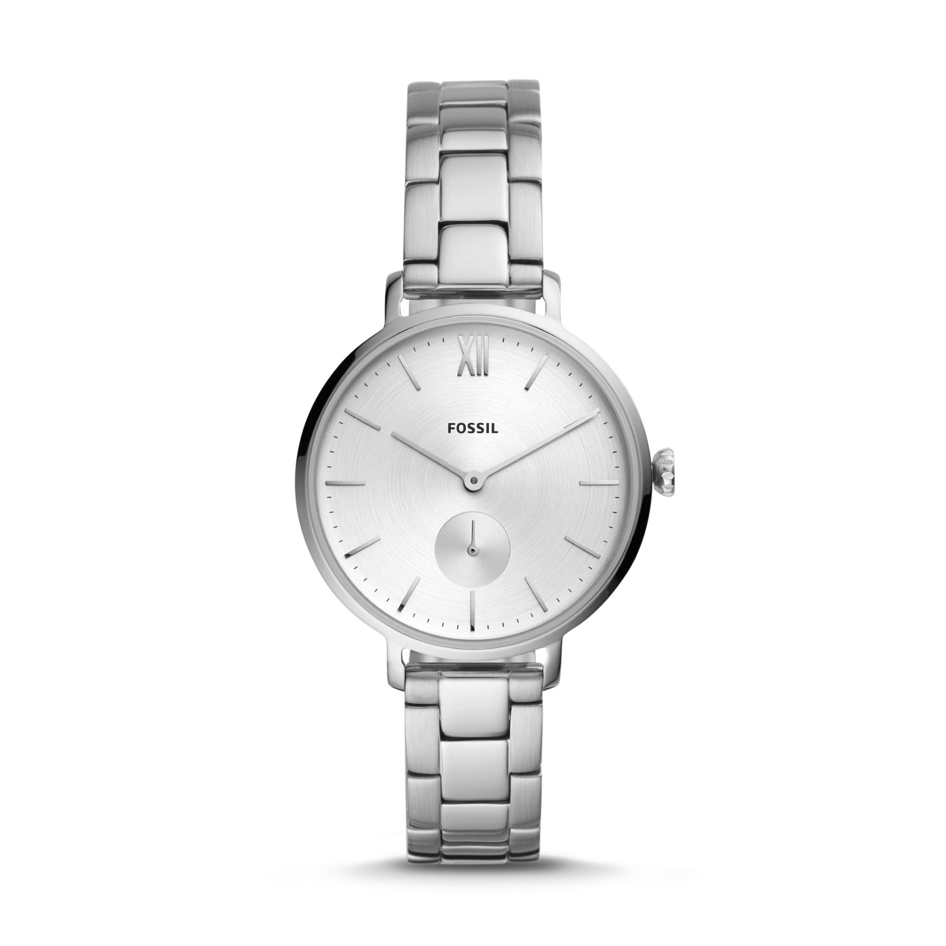 Kalya Three-Hand Stainless Steel Watch