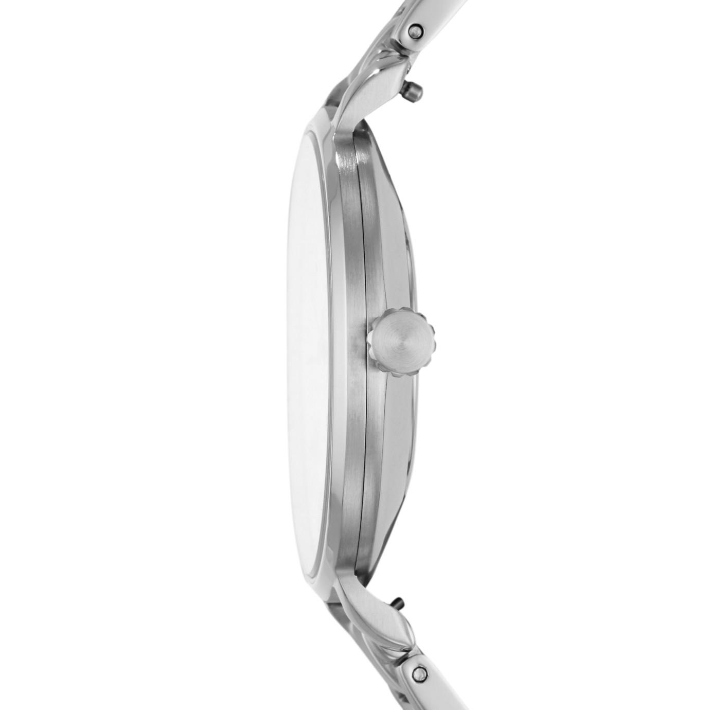 Kalya Three-Hand Stainless Steel Watch
