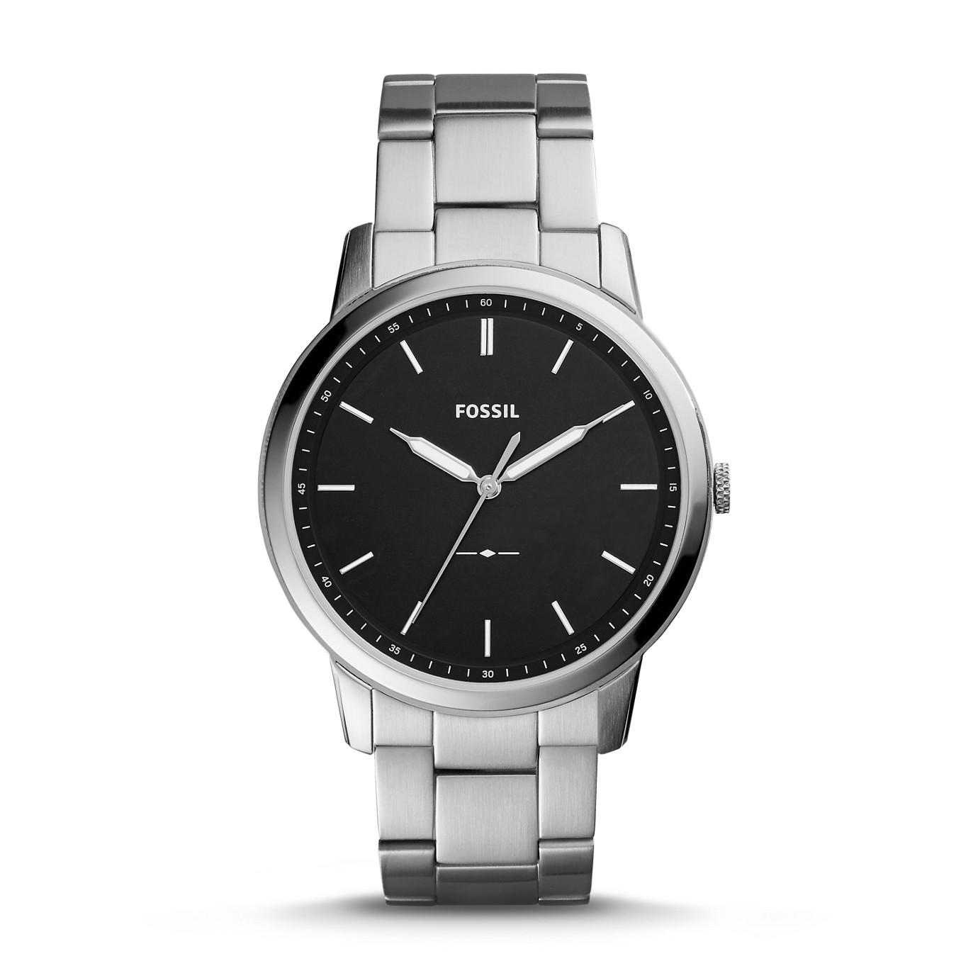 The Minimalist 系列三指針不鏽鋼手錶