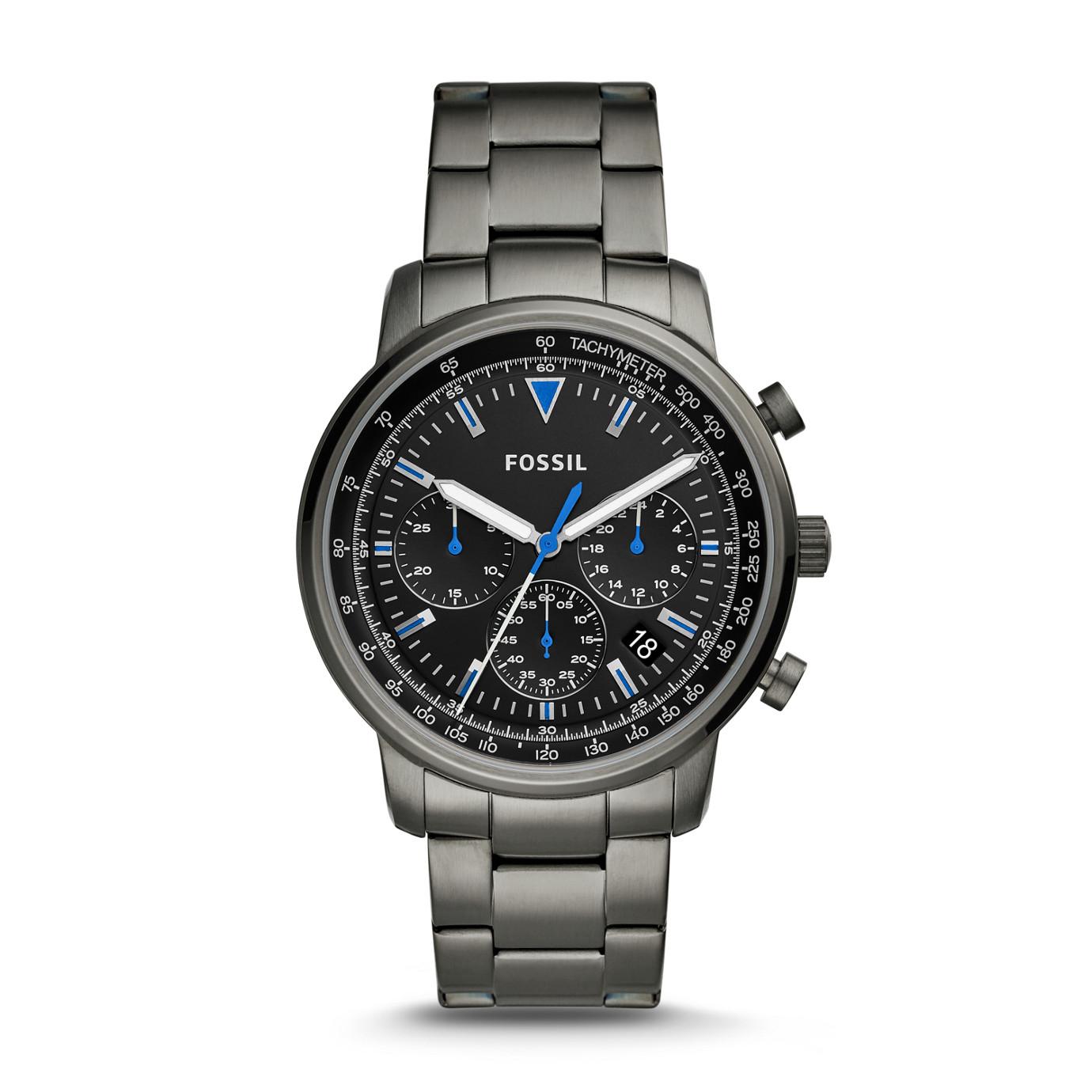 Goodwin Chronograph Smoke Stainless Steel Watch
