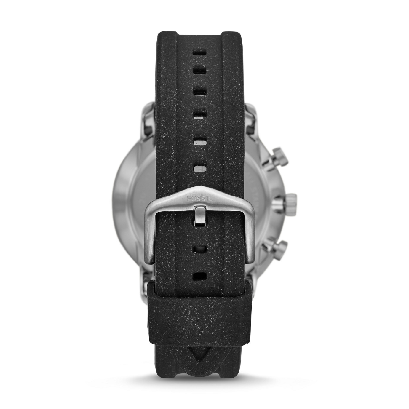 Goodwin Chronograph Black Silicone Watch