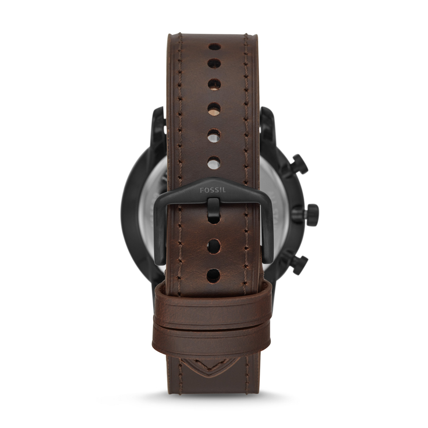 Goodwin Chronograph Brown Leather Watch