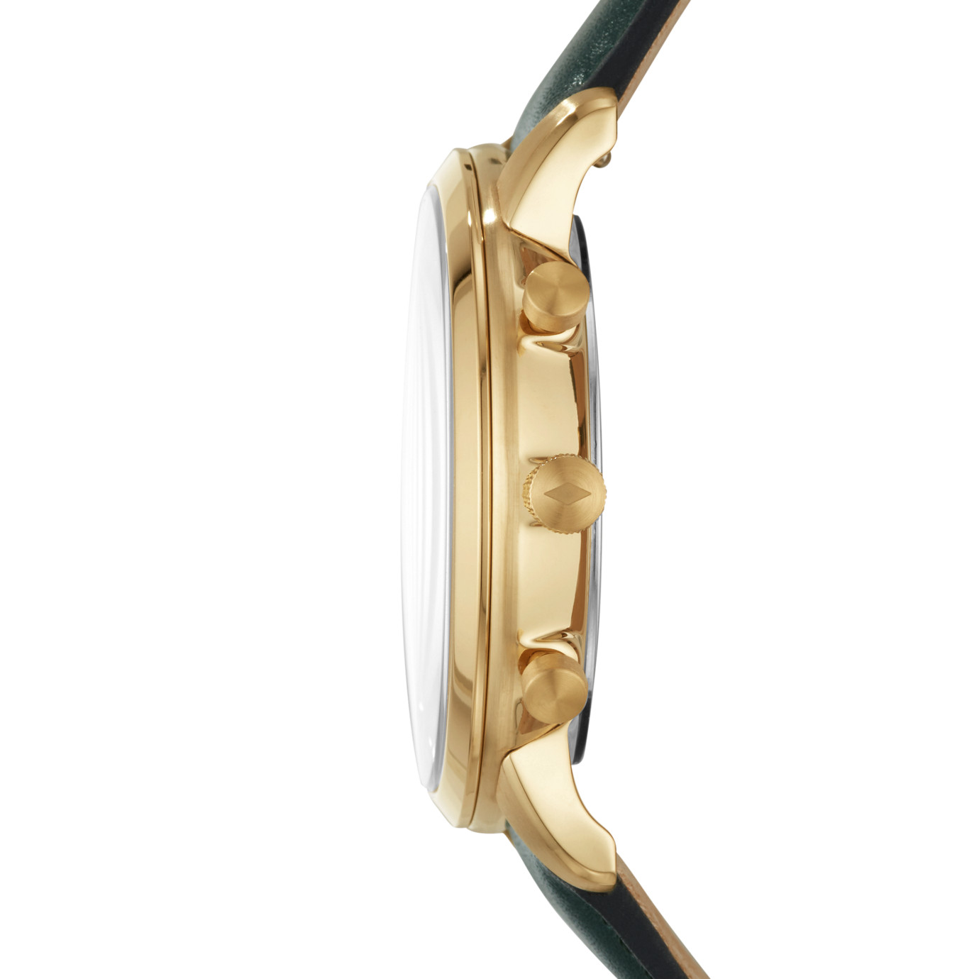Neutra Chronograph Dark Green Leather Watch