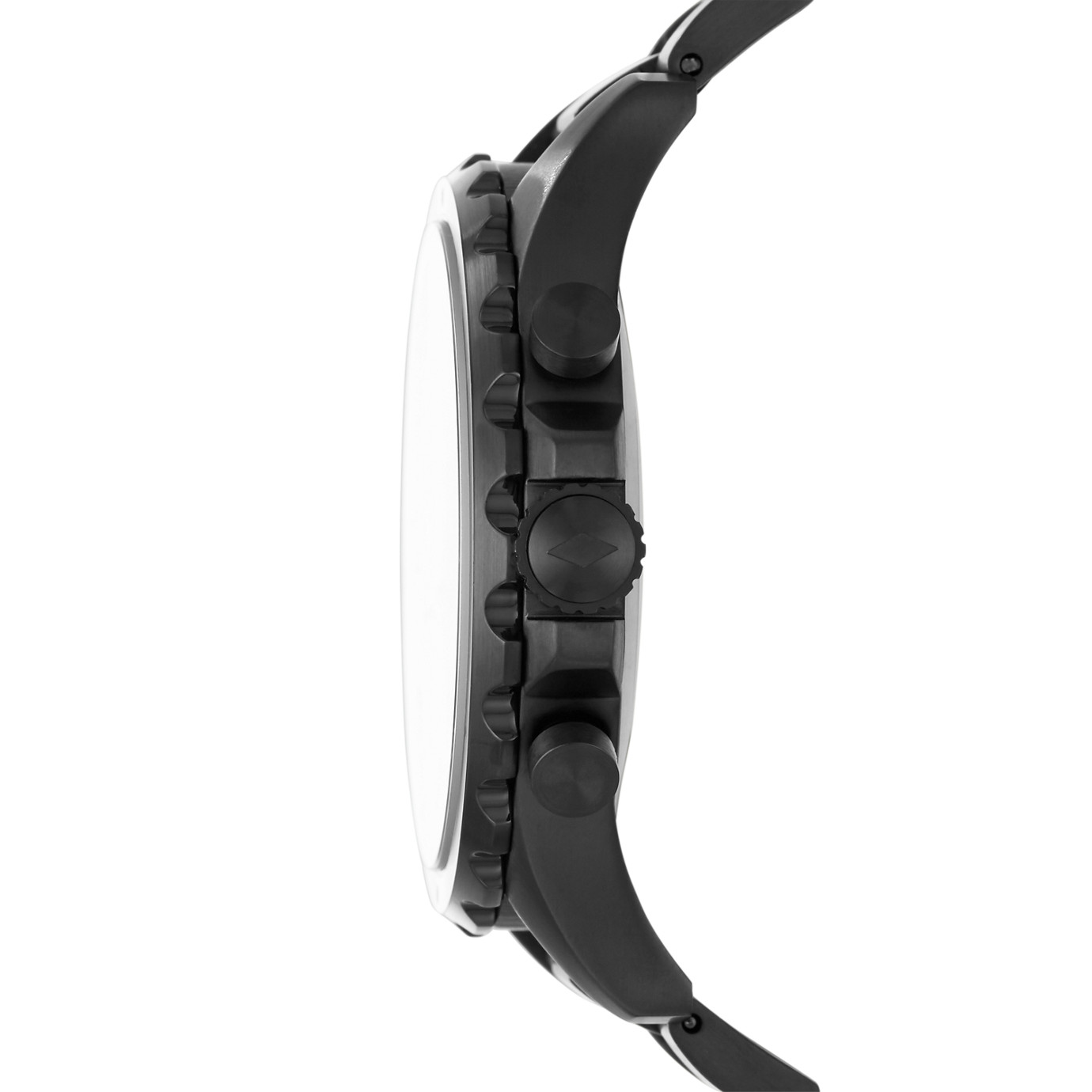 Fossil Nate Black Stainless Steel Hybrid Smartwatch