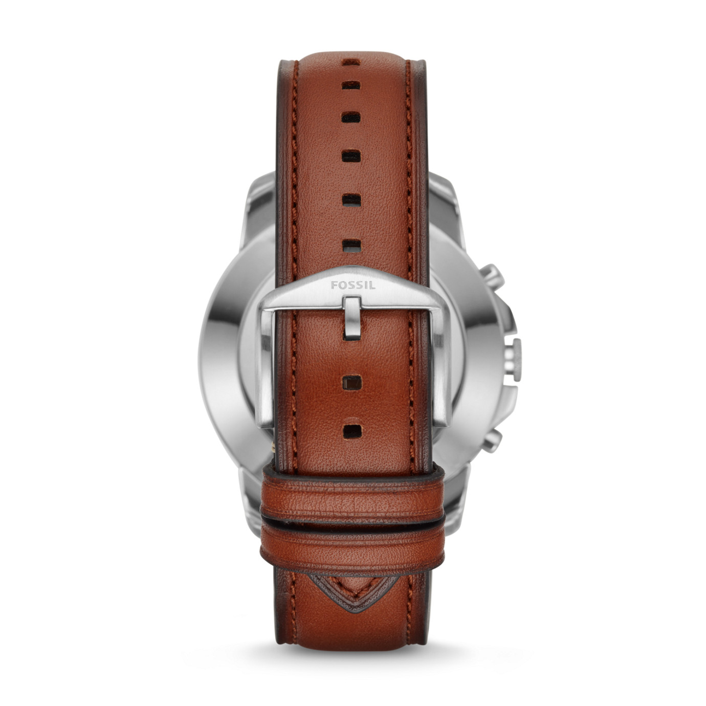 Fossil Grant Light Brown Leather Hybrid Smartwatch