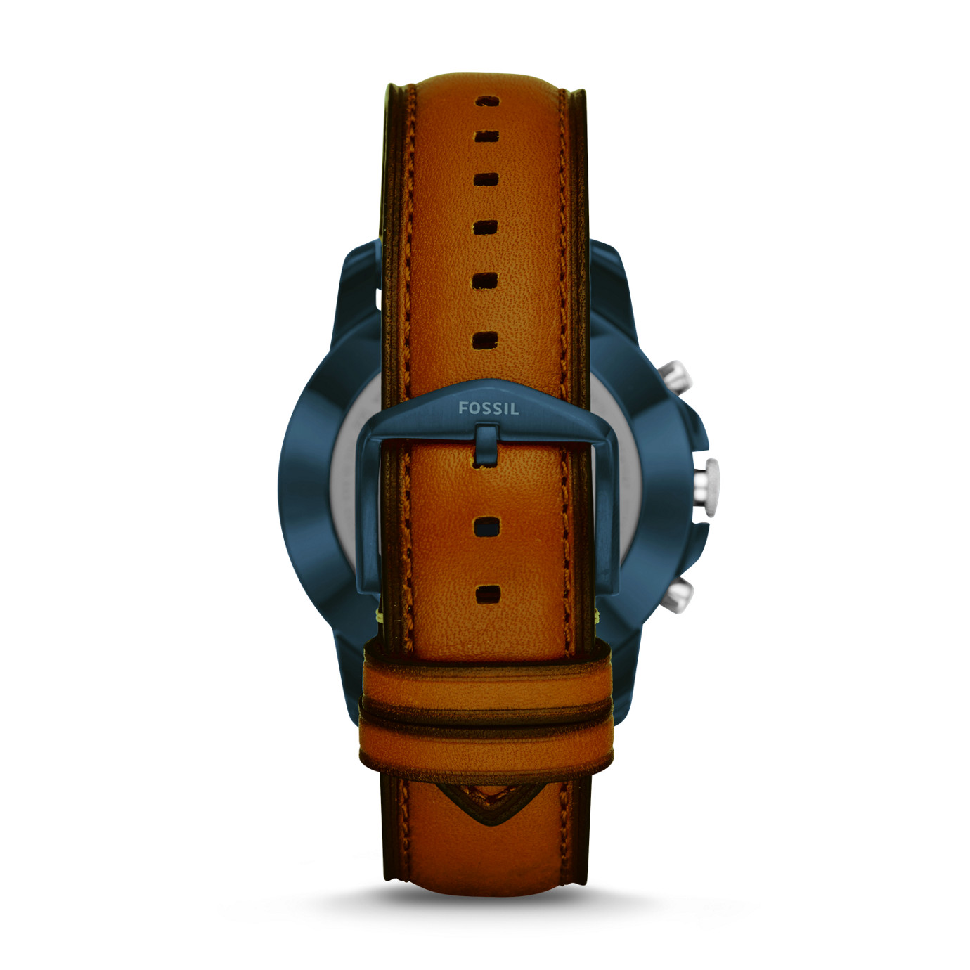 Hybrid Smartwatch - Q Grant Luggage Leather