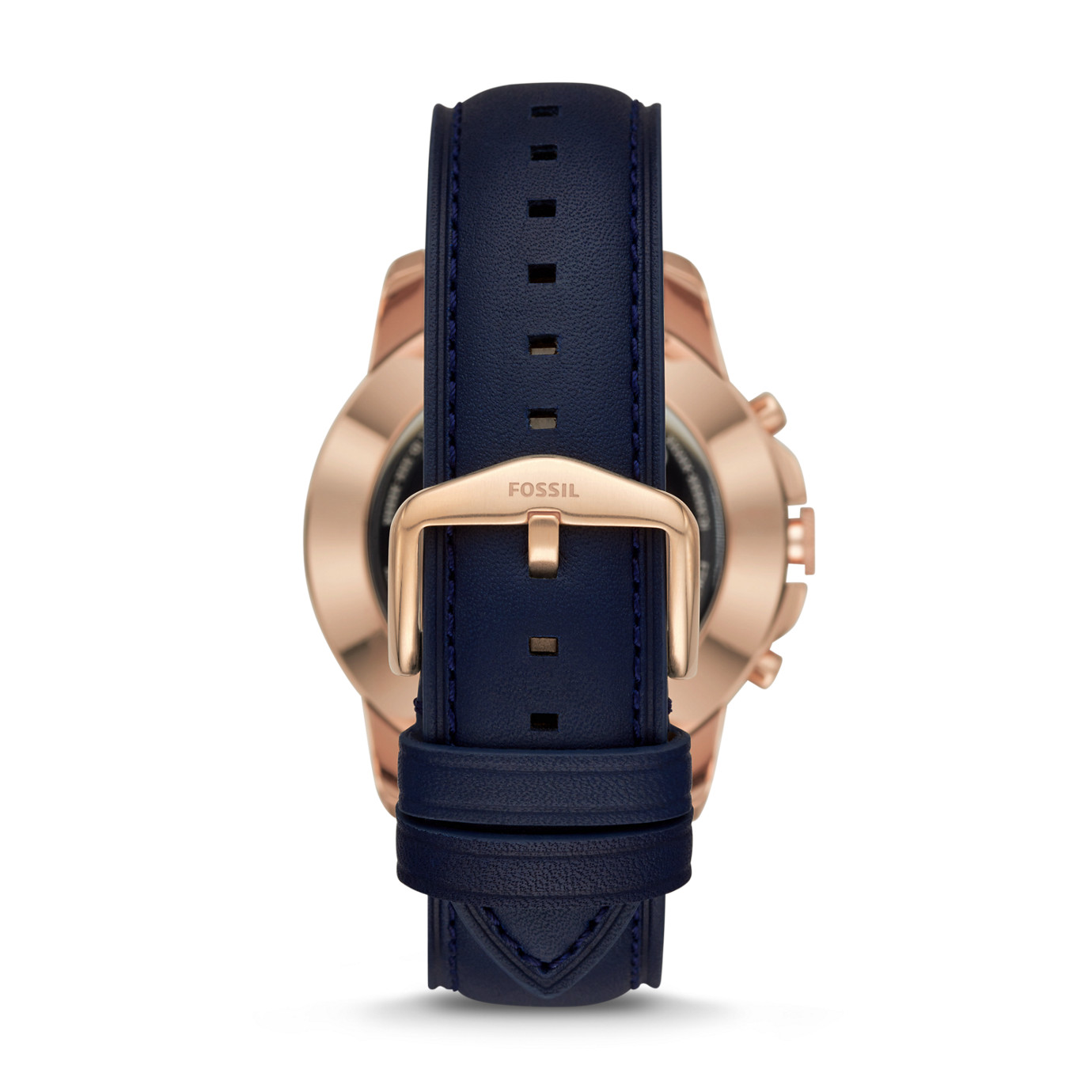 Hybrid Smartwatch - Q Grant Navy Leather