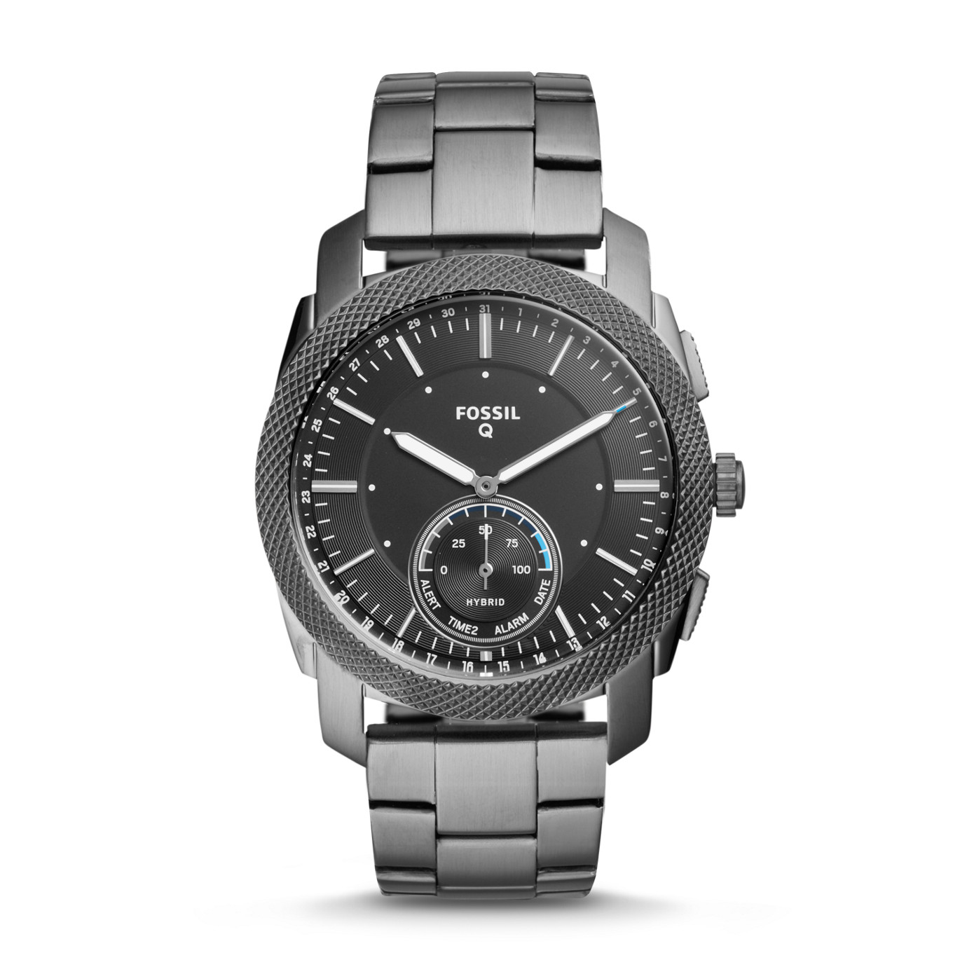 Hybrid Smartwatch - Q Machine Smoke Stainless Steel