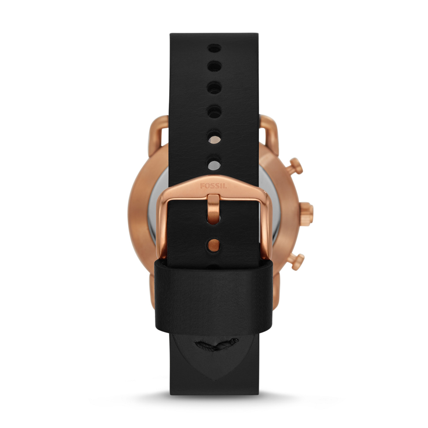 Hybrid Smartwatch - Commuter Black Leather
