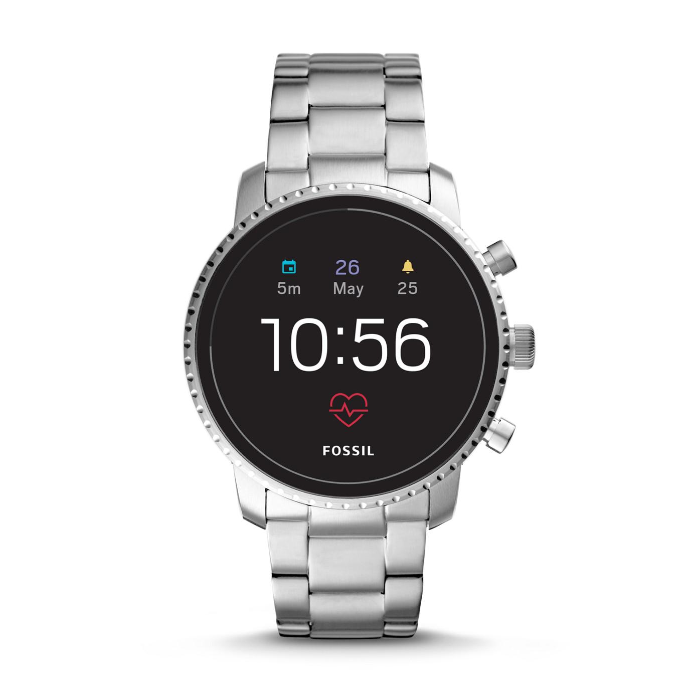 第 4 代智慧型腕錶── Explorist HR 不鏽鋼系列