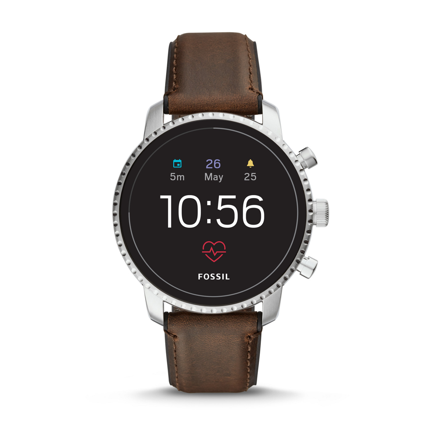 Gen 4 Smartwatch -  Explorist HR Brown Leather