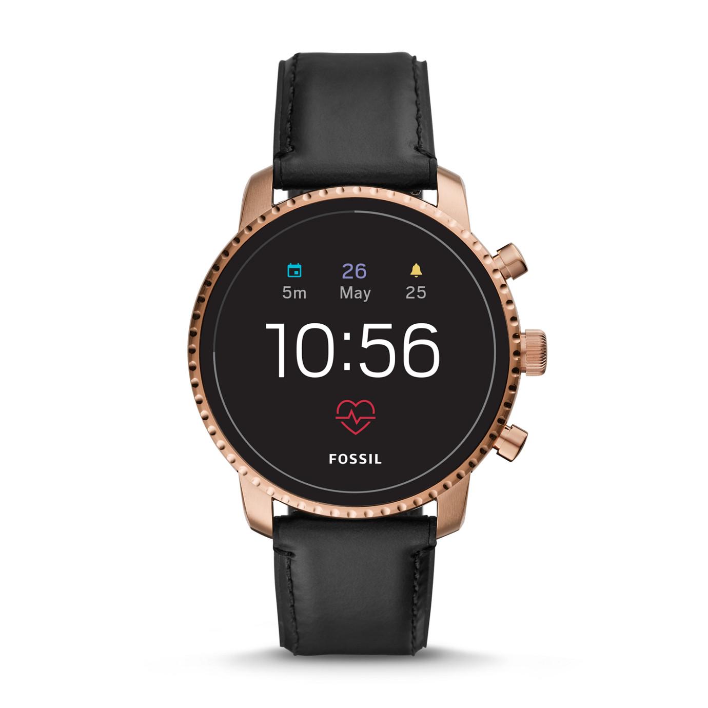 Gen 4 Smartwatch -  Explorist HR Black Leather