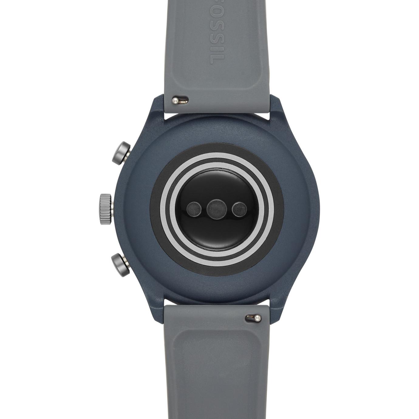 Gen 4 Sport Smartwatch -  Sport Smokey Blue Silicone