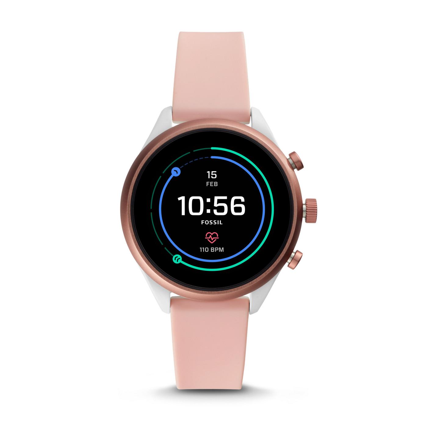 Gen 4 Sport Smartwatch - Q Sport Blush Silicone