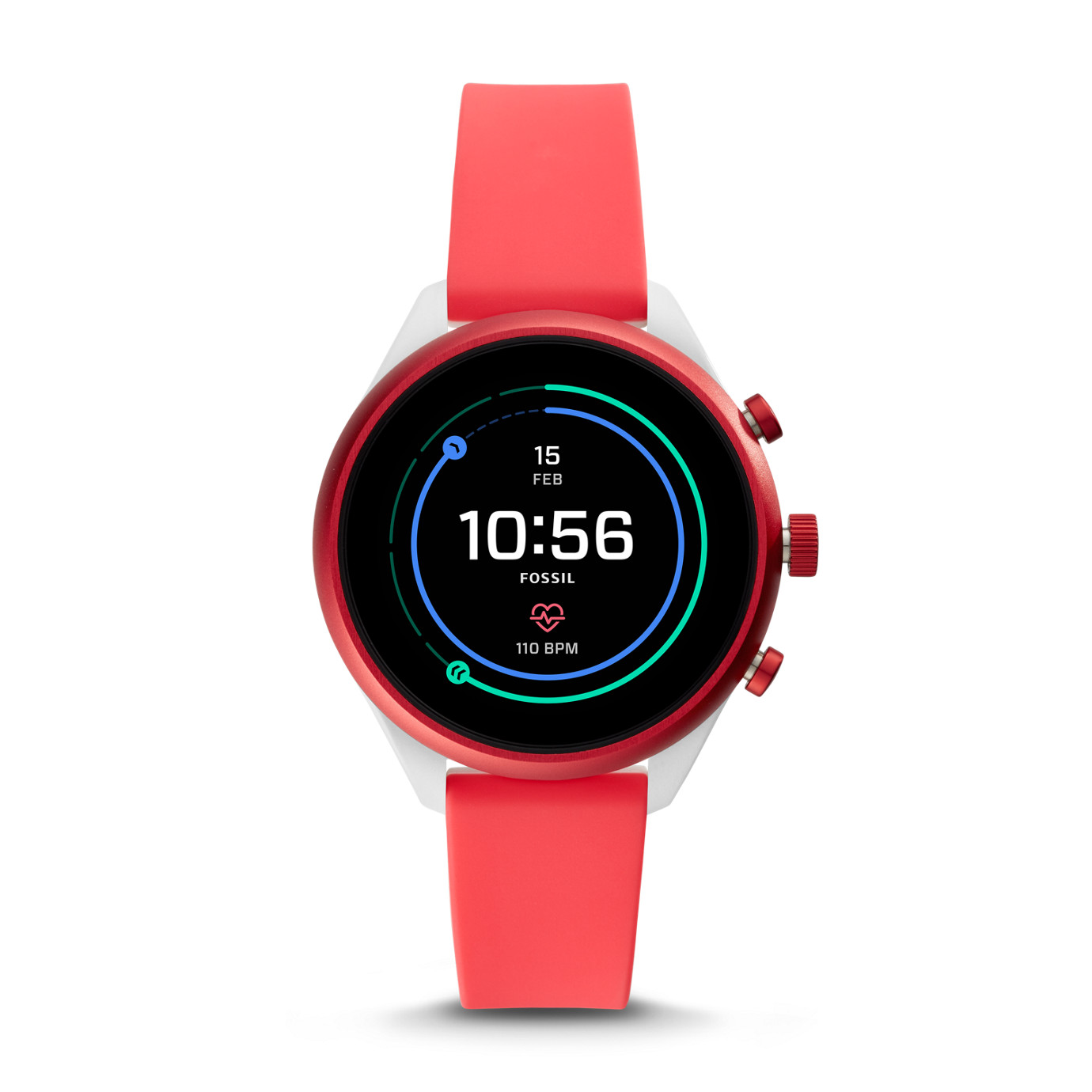 Gen 4 Sport Smartwatch -  Sport Metallic Red Silicone