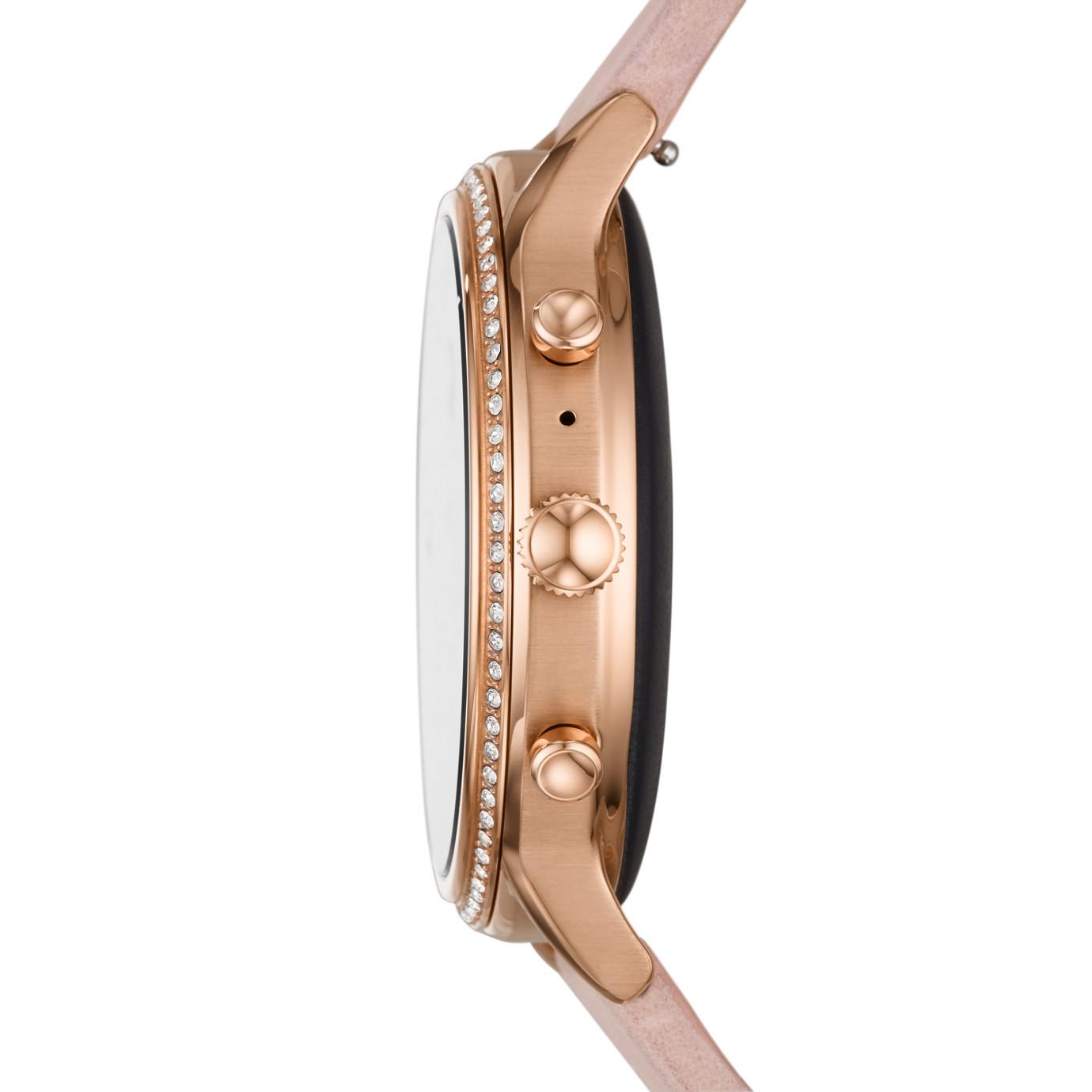Gen 5 Smartwatch - Julianna HR Blush Leather