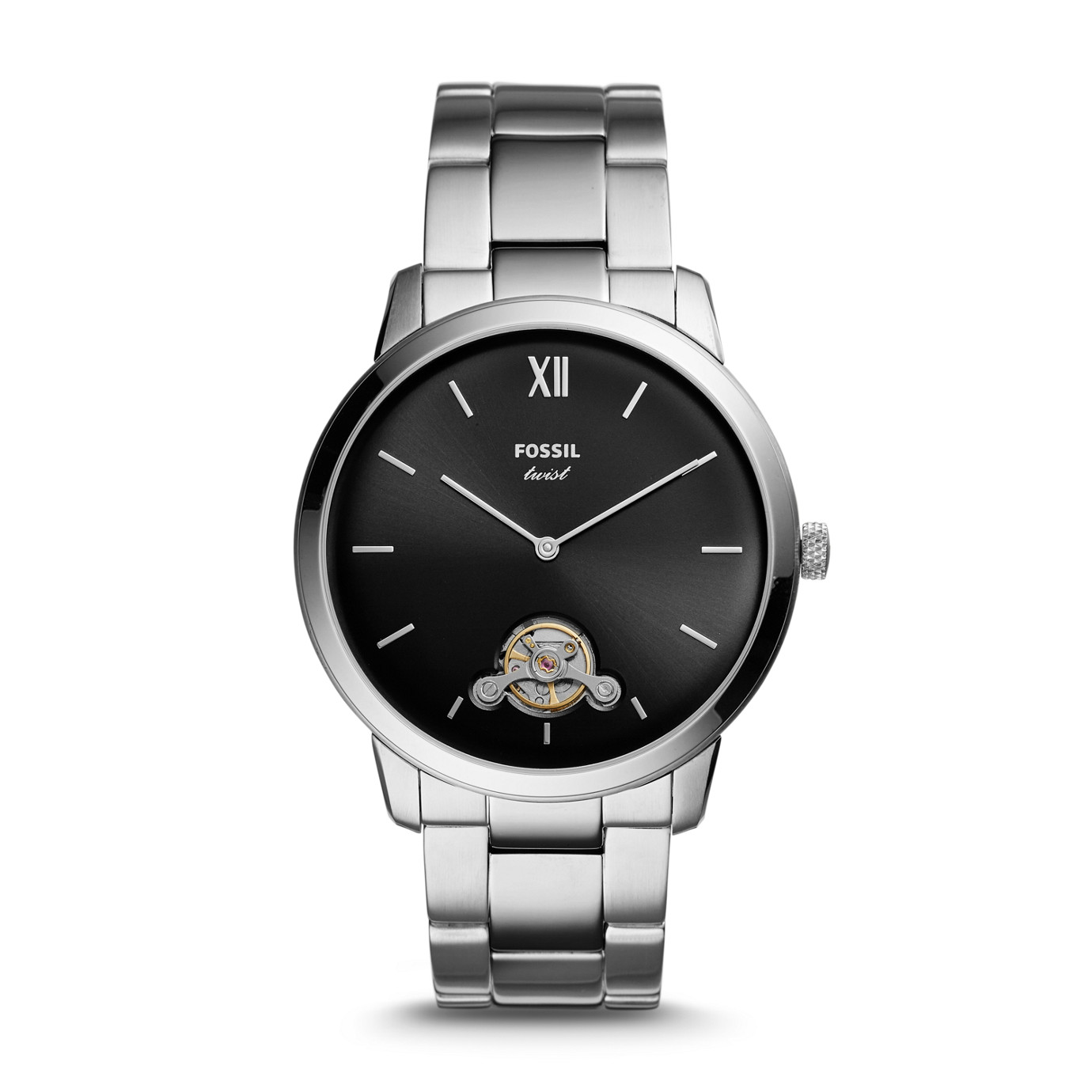 Neutra Twist Stainless Steel Watch