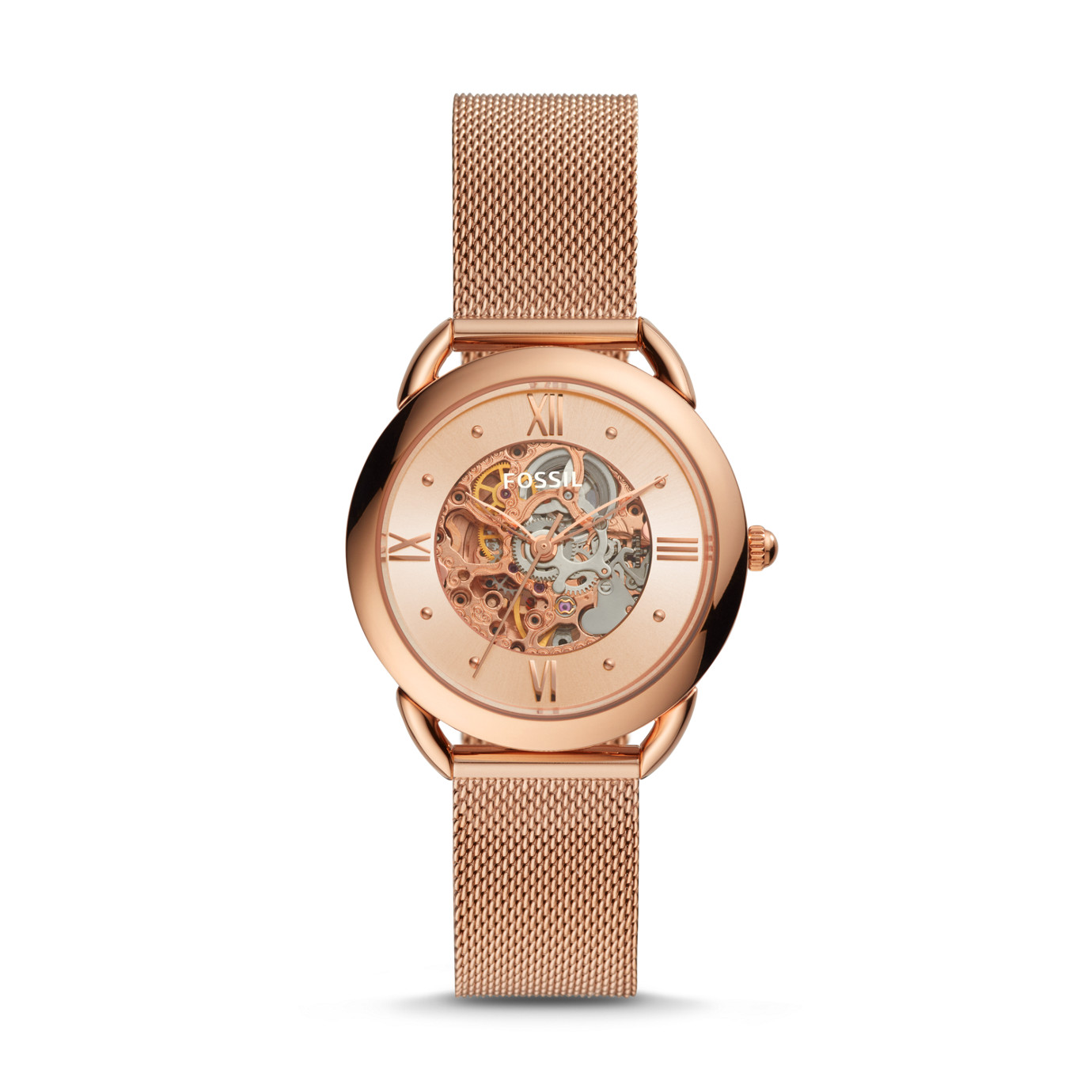Tailor Mechanical Rose Gold-Tone Stainless Steel Watch